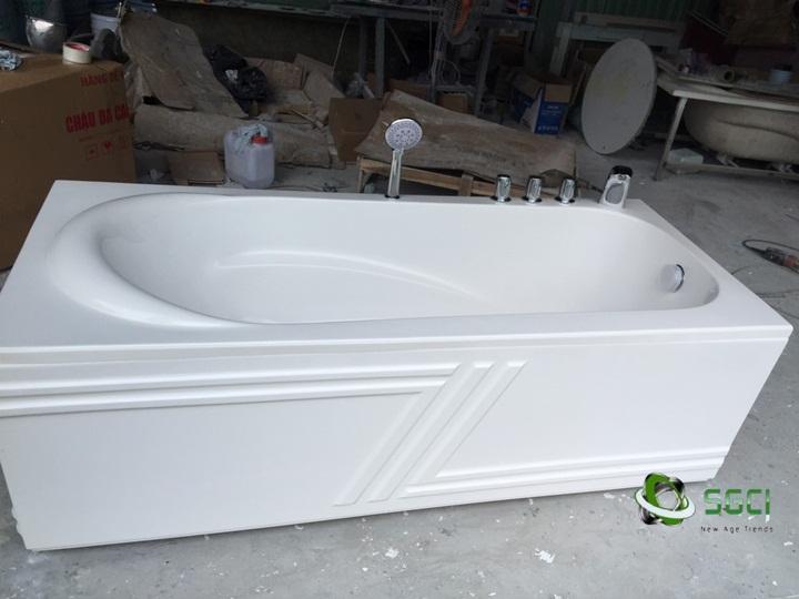 Bồn tắm được sử dụng ngày càng rộng rãi